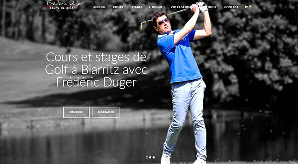 Site internet E-Commerce Wordpress WooCommerce www.biarritz-golf.com by Frédéric Duger | www.123siteinternet.com | agence web Strasbourg by Michael Cresci